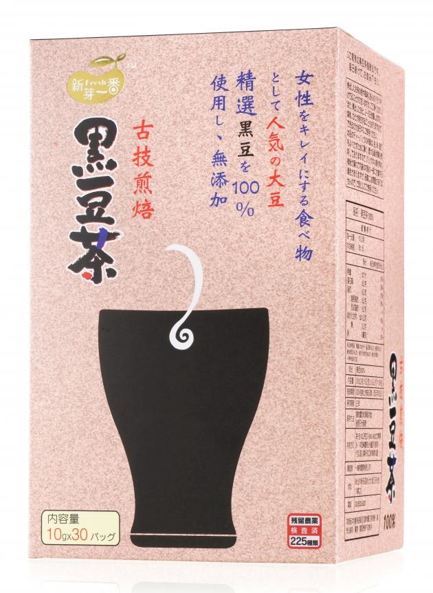 一番搾 黑豆茶100% 1